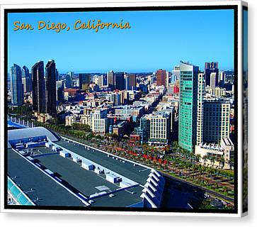 San Diego Canvas Print by Glenn McCarthy Art and Photography