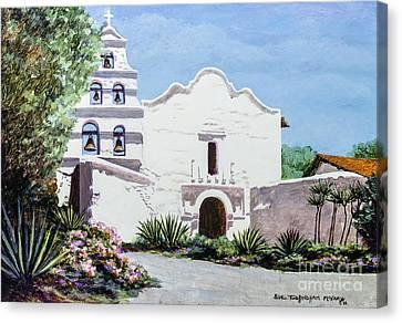 San Diego Mission De Alcala Canvas Print