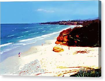San Diego Morning Canvas Print