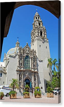 San Diego Museum Of Man Canvas Print