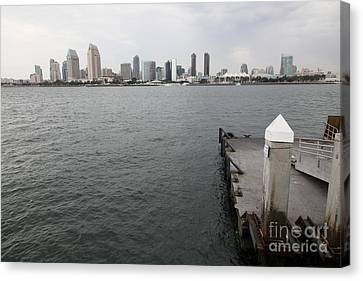 San Diego Skyline 5d24348 Canvas Print by Wingsdomain Art and Photography