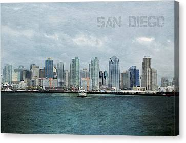 Canvas Print - San Diego  by Sofia Walker