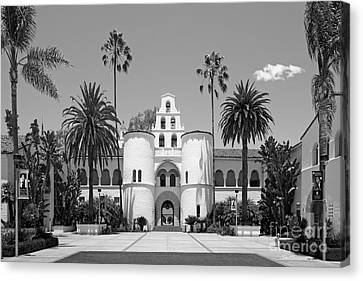 San Diego State University - Hepner Hall Canvas Print by University Icons
