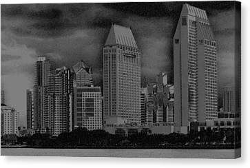 San Diego Storm Canvas Print by Kirt Tisdale