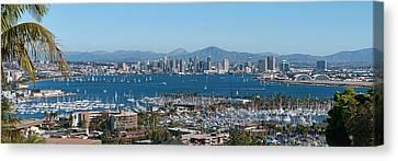 San Diego's Big Bay Canvas Print