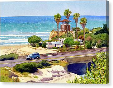 San Elijo Campground Cardiff Canvas Print