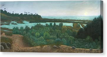 San Elijo Lagoon Canvas Print