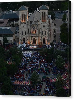 Shawn Marlow Canvas Print - San Fernando Cathedral 001 by Shawn Marlow
