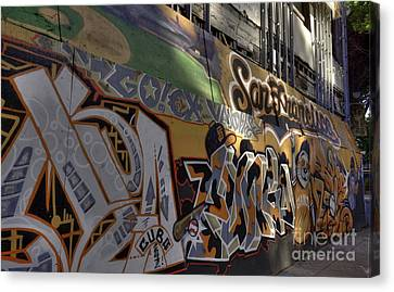 San Fran Street Art Canvas Print by David Bearden