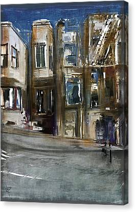 San Fran Street Canvas Print by Russell Pierce