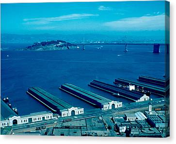 San Francisco 11 1955 Canvas Print by Cumberland Warden