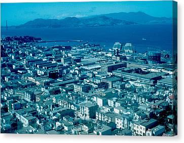 San Francisco 14 1955 Canvas Print by Cumberland Warden