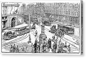 San Francisco, 1891 Canvas Print by Granger