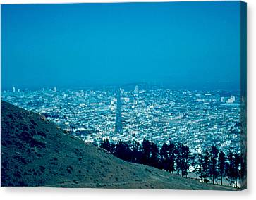 San Francisco 1955 Canvas Print by Cumberland Warden