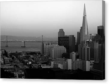 San Francisco Canvas Print by Aidan Moran