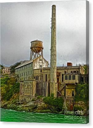 San Francisco - Alcatraz - 03 Canvas Print by Gregory Dyer