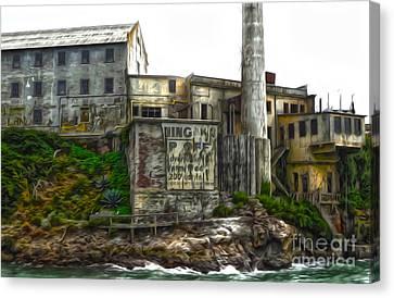 San Francisco - Alcatraz - 04 Canvas Print by Gregory Dyer