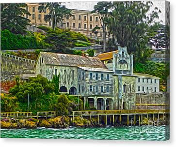 San Francisco - Alcatraz - 06 Canvas Print by Gregory Dyer