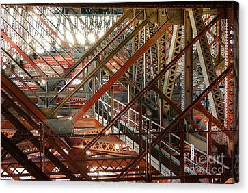 San Francisco Bay Bridge 1.6994 Canvas Print