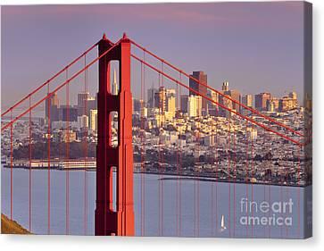 San Francisco Canvas Print by Brian Jannsen