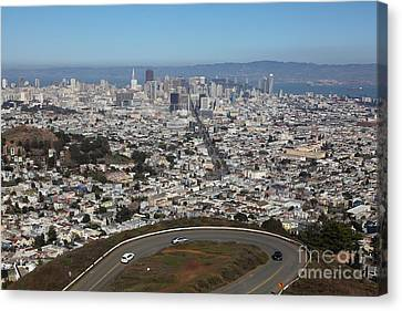 San Francisco California From Twin Peaks 5d28034 Canvas Print