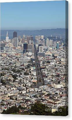 San Francisco California From Twin Peaks 5d28037 Canvas Print