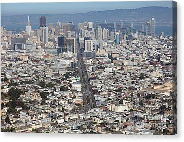 San Francisco California From Twin Peaks 5d28040 Canvas Print