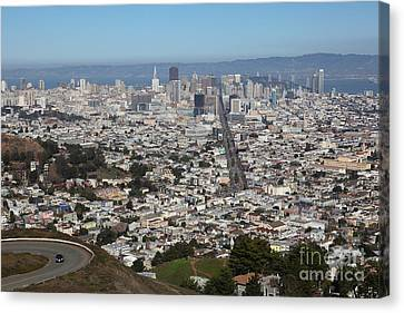 San Francisco California From Twin Peaks 5d28044 Canvas Print