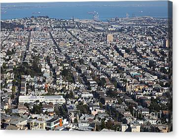 San Francisco California From Twin Peaks 5d28072 Canvas Print