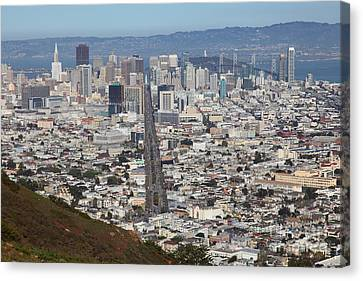 San Francisco California From Twin Peaks 5d28073 Canvas Print