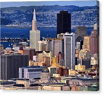San Francisco Canvas Print by Camille Lopez