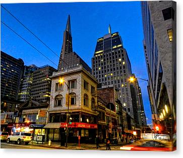 Architectural Canvas Print - San Francisco - Chinatown 011 by Lance Vaughn