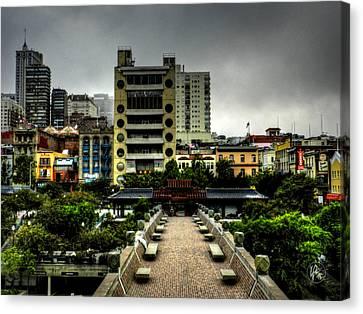 San Francisco - Chinatown 016 Canvas Print by Lance Vaughn