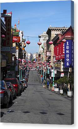 San Francisco Chinatown Canvas Print by Christopher Winkler
