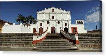 San Francisco Church On The Colonial Canvas Print by Panoramic Images