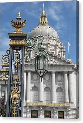 Alfred Ng Art Canvas Print - San Francisco City Hall by Alfred Ng