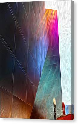 San Francisco - Contemporary Jewish Museum - 02 Canvas Print by Gregory Dyer
