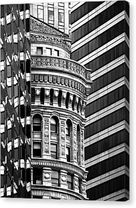 Canvas Print featuring the photograph San Francisco Design by Art Shimamura