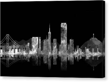 San Francisco Fog Canvas Print by Daniel Hagerman