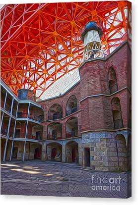 San Francisco - Fort Point - 02 Canvas Print by Gregory Dyer