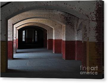 San Francisco Fort Point 5d21543 Canvas Print by Wingsdomain Art and Photography