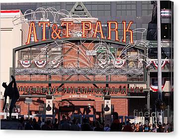 San Francisco Giants World Series Baseball At Att Park 5d29720 Canvas Print