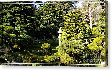 San Francisco Golden Gate Park Japanese Tea Garden 1 Canvas Print by Robert Santuci