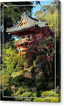 San Francisco Golden Gate Park Japanese Tea Garden 10 Canvas Print by Robert Santuci