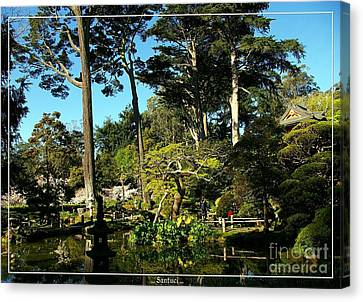 San Francisco Golden Gate Park Japanese Tea Garden 11 Canvas Print by Robert Santuci