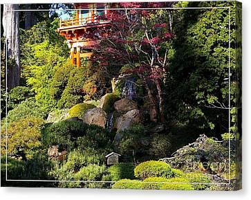 San Francisco Golden Gate Park Japanese Tea Garden 9 Canvas Print by Robert Santuci