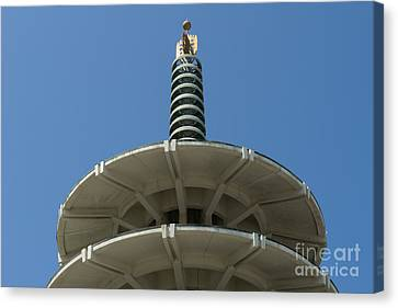 San Francisco Japantown Pagoda Dsc998 Canvas Print by Wingsdomain Art and Photography