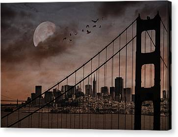 San Francisco Canvas Print by Marie  Gale
