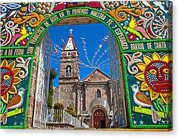 San Francisco Mexico Canvas Print