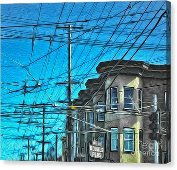 San Francisco - Mission District - 01 Canvas Print by Gregory Dyer